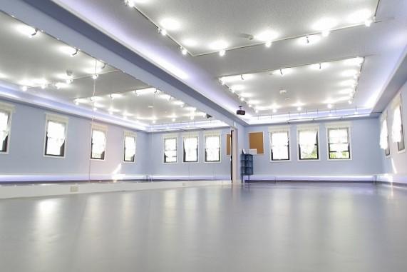 ダンス向けのTMフロア床 自由ヶ丘 レンタルスタジオ セレナヴィータ