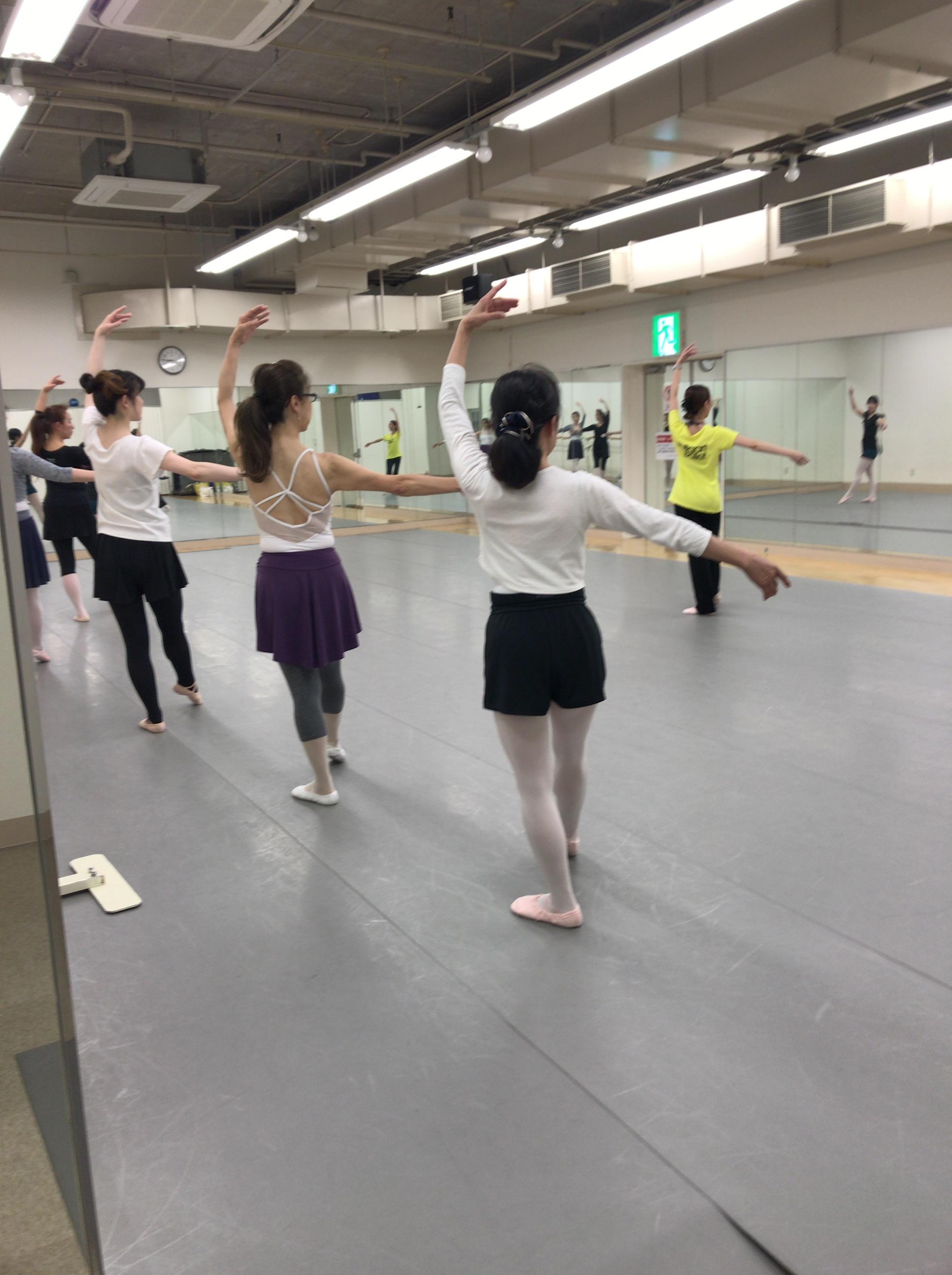 自由が丘 クラシックバレエ教室 生徒