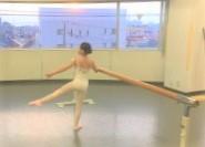現役 新国立劇場 バレエダンサー が教える 仙頭由貴 バレエアカデミー 生徒募集 レッスン風景