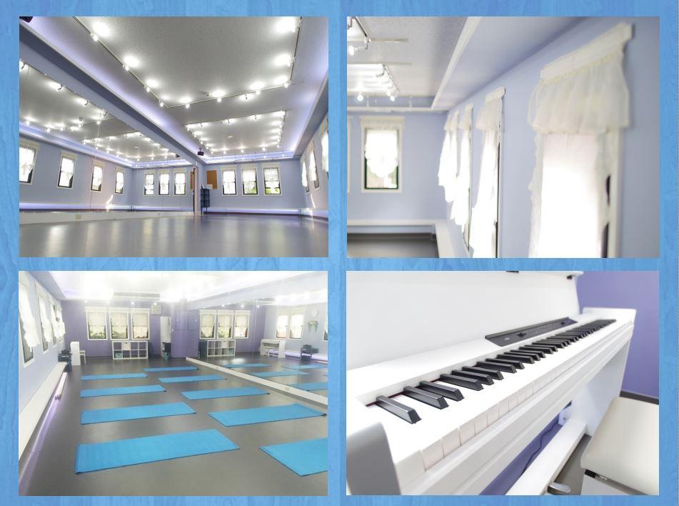 自由が丘 キッズダンス教室ができるレンタルスタジオ 設備 備品